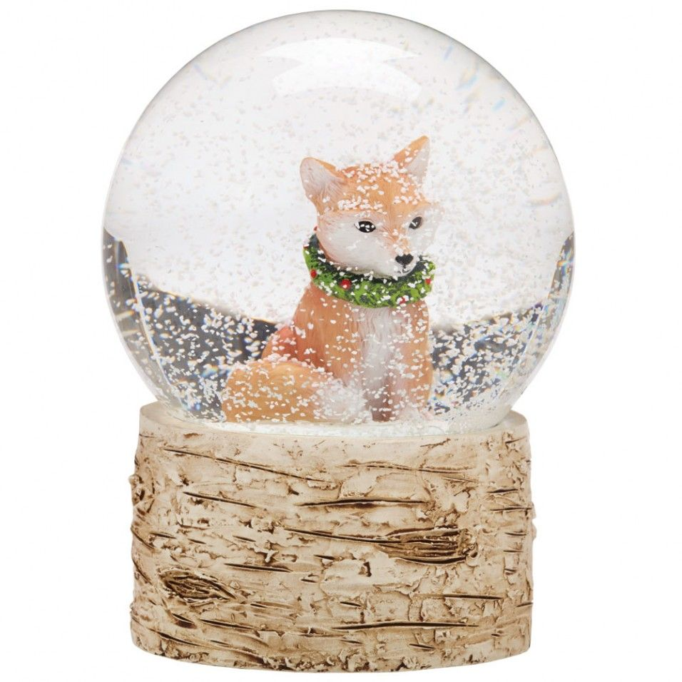 Fox Snow Globe New Gift Ideas New For Autumn Snow Globes Snowglobes Snow