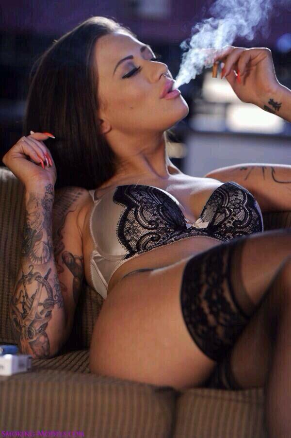 Women smoking xxx, riding outfit fetish photos