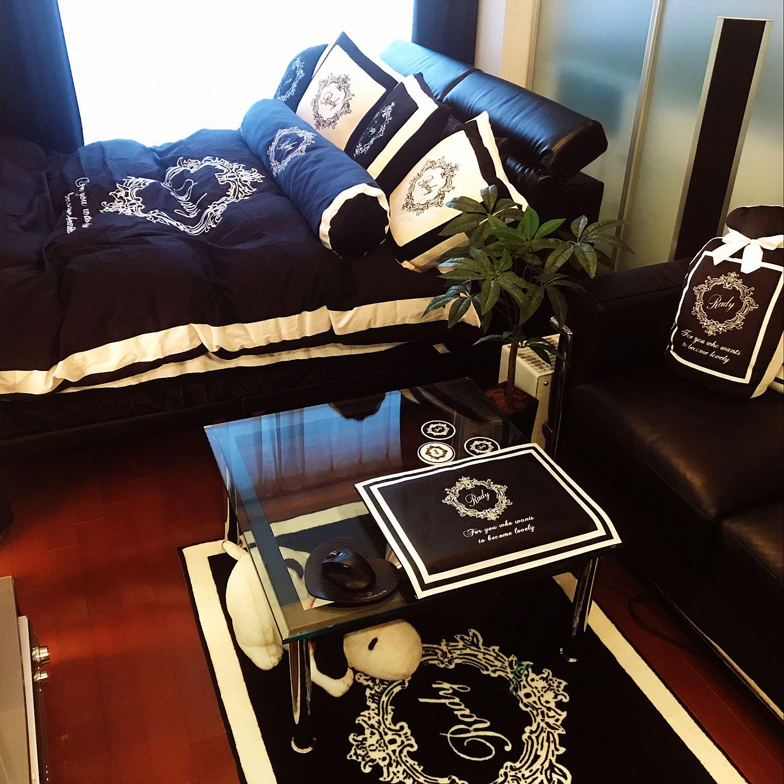 部屋全体 一人暮らし モノトーン Radyのインテリア実例 2017 10 29 04 38 01 Roomclip ルームクリップ 部屋 インテリア 実例 インテリア