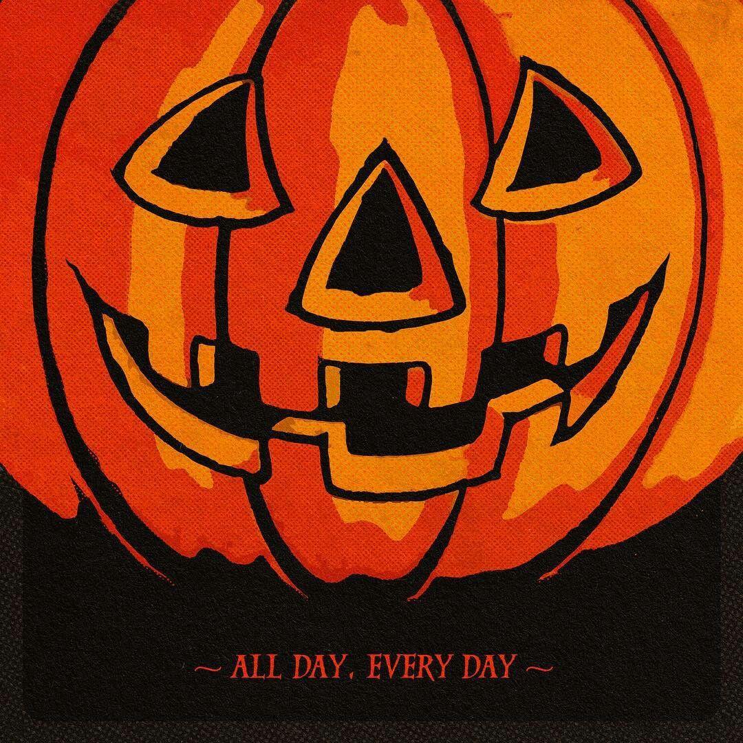 Halloween All day, everyday Halloween countdown