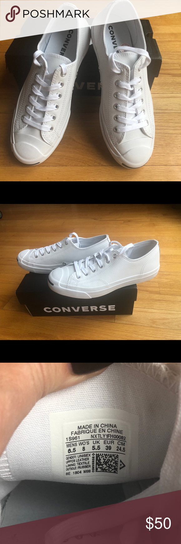 dedefd5fb127 Jack Purcell Leather Converse. New in box! Brand new