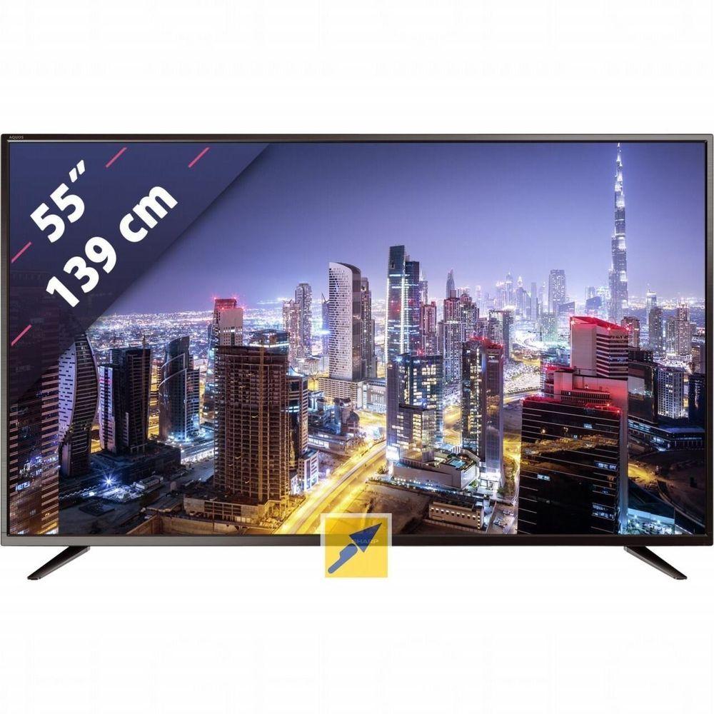 "TV LED SHARP 55""ULTRA HD 4K SMART TV LC55CUG8052E AUDIO"
