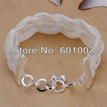 LQ-N224 Free Shipping 925 sterling silver necklace 925