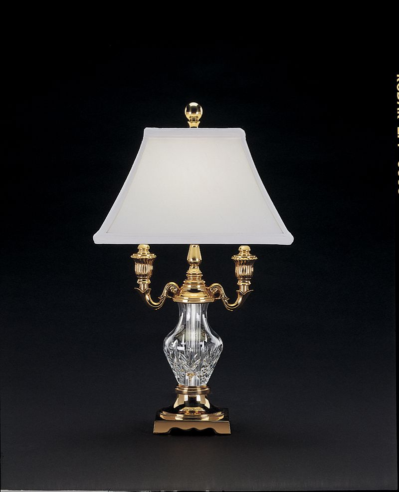 Wildwood brass and crystal beads buffet - 117 603 17 00 Waterford Lighting Glenn Desk Lamp