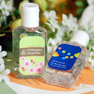 Personalized Hand Sanitizer Wedding Gifts For Bridesmaids Hand