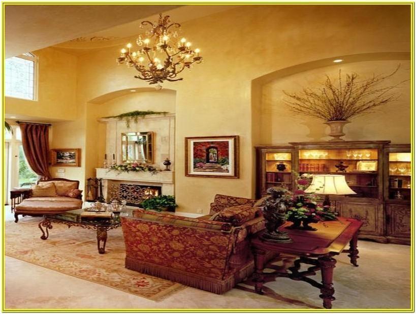 Tuscan Style Living Room Decorating Ideas Warna Ruang Tamu Interior Ruang Tamu Cat Ruang Tamu