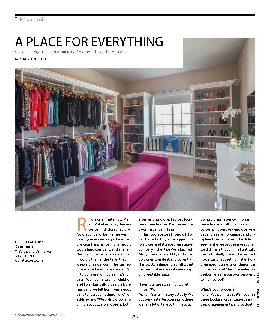 Closet Designs, Life Magazine, Locker Designs