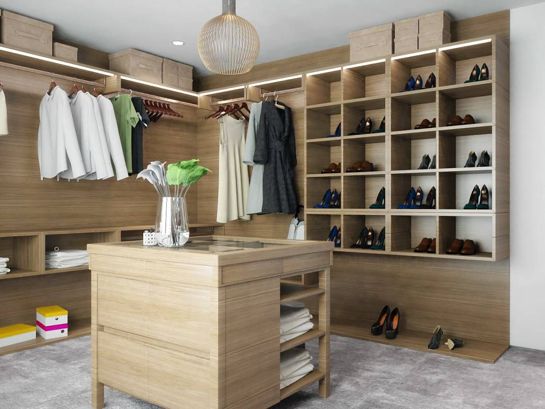 organiza tu hogar vestidores y armarios preciosos