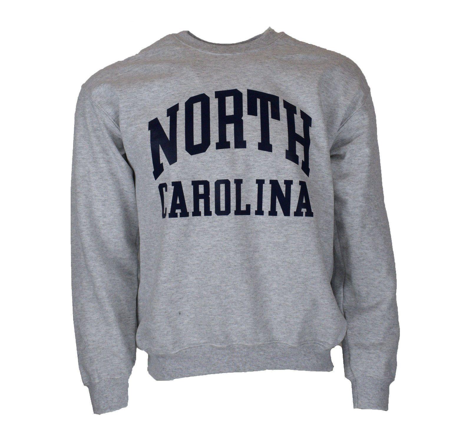 Get Your Classic North Carolina Souvenir Crew Neck Sweatshirt