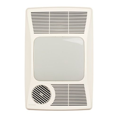 100 cfm bathroom fan with heater and
