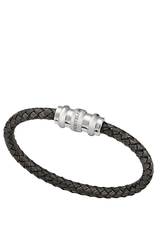 montblanc silver collection woven bracelet in 925 sterling silver favorite things mont. Black Bedroom Furniture Sets. Home Design Ideas