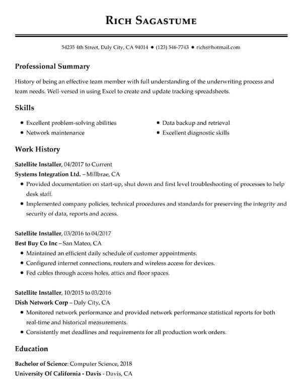 How to Write Your Resume Summary Statement My Perfect