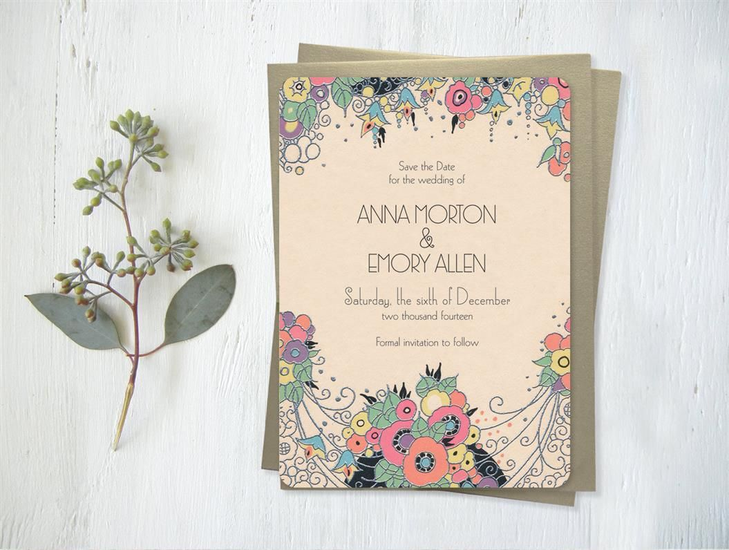 wedding invitations with gatsby glamour gatsby weddings and
