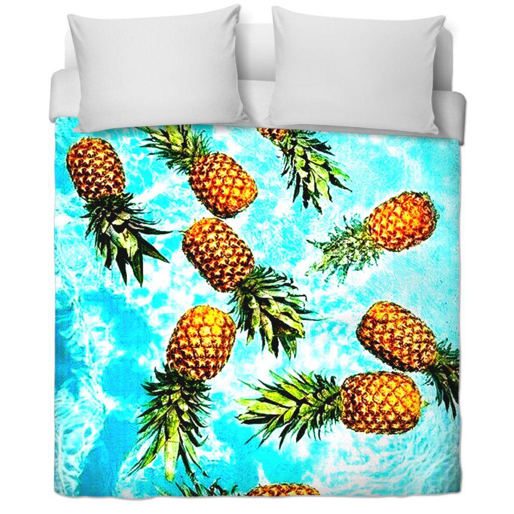 Pineapple Bedding Pineapple bedding, Best duvet covers