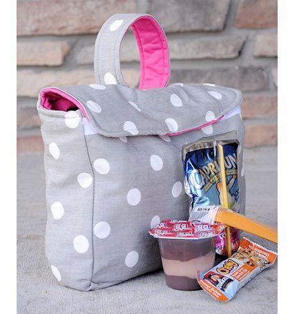 fabric lunch box tutorial   Sacs   Pinterest   Nähen, Kindertassen ...