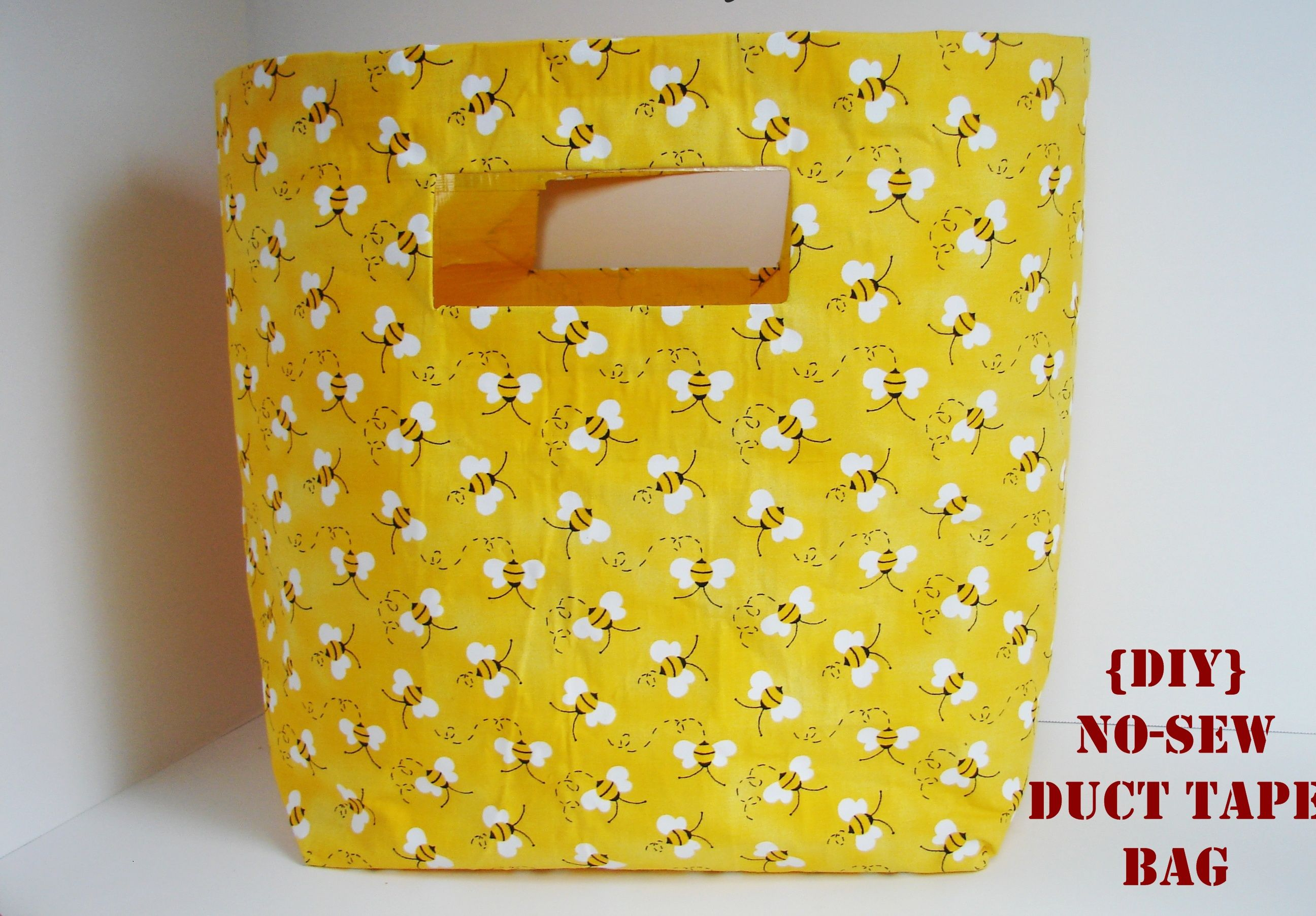 Diy No Sew Duct Tape Bag Crazy Easy To Do What A Great