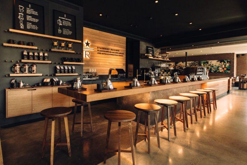 Vancouver S Starbucks Reserve Bar Coffee Shops Interior Bar Counter Design Coffee Bar Design