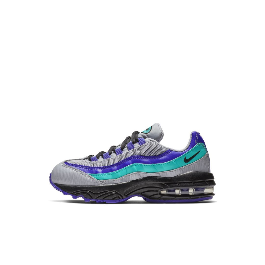 f2a8567352 Nike Air Max 95 Little Kids' Shoe Size 11C (Wolf Grey) | Products in ...