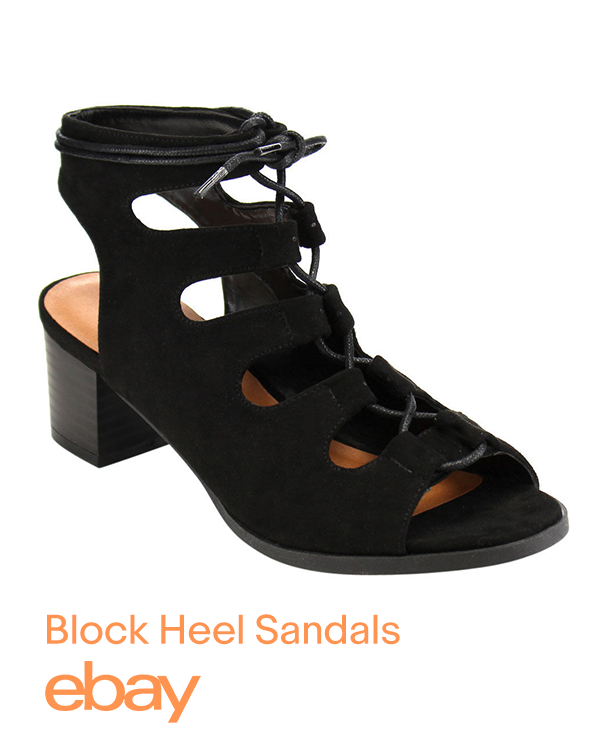 Kick Your Summer Style Up A Notch With Block Heel Sandals