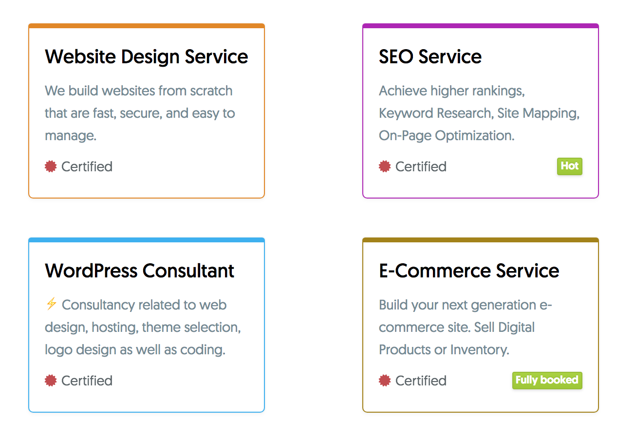 Services: a selection of articles