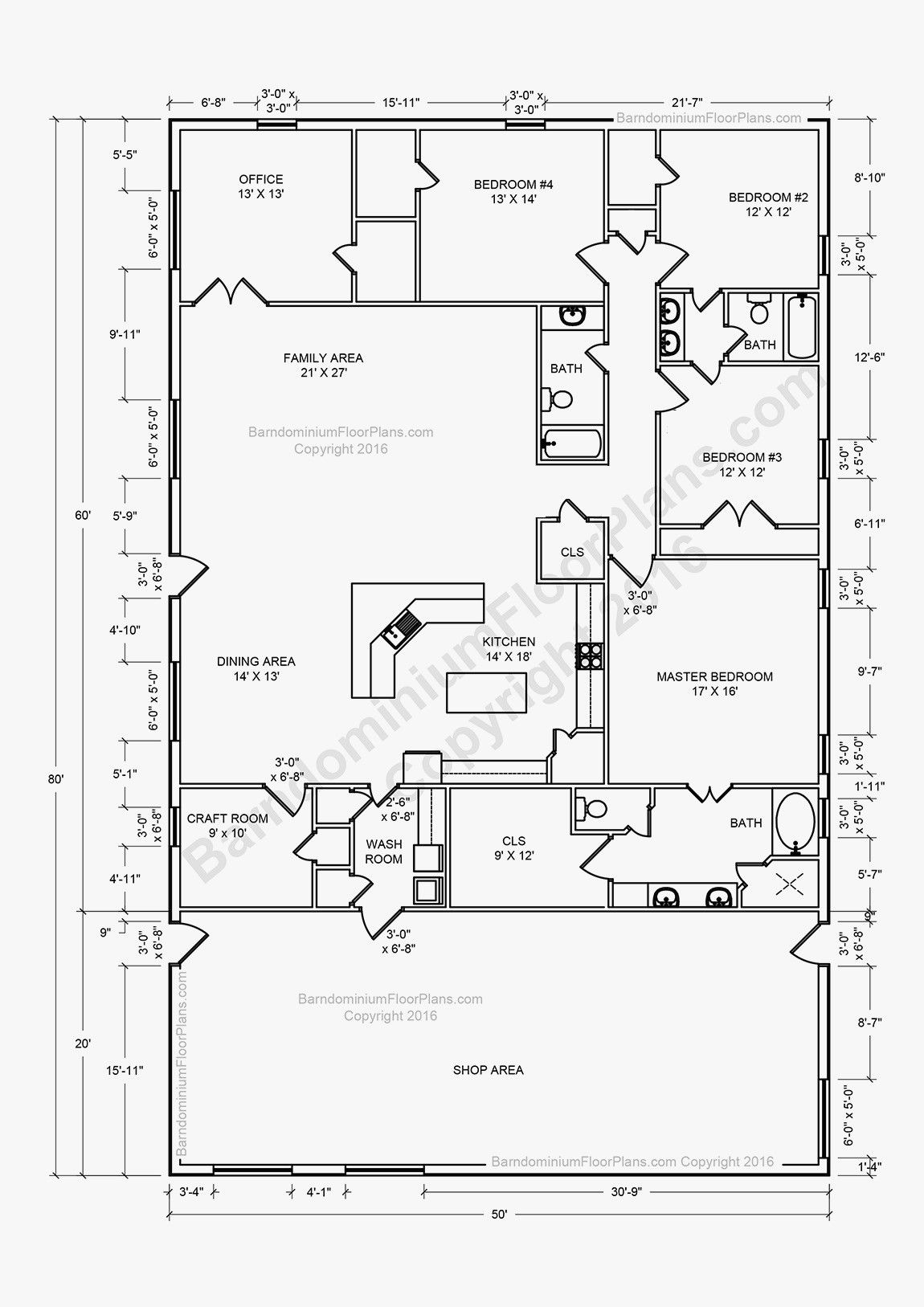 40×40 Floor Plan Photos
