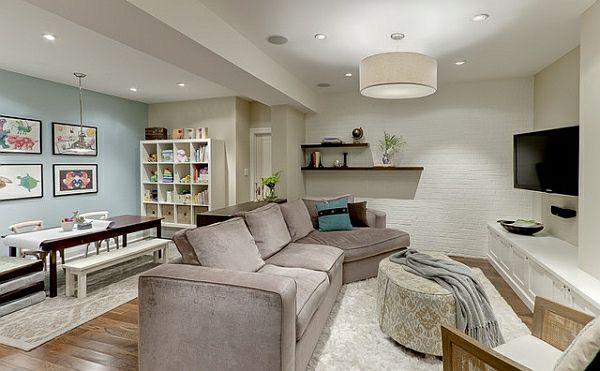 zimmer im keller einrichten 10 tolle und inspirierende beispiele kellerraum pinterest. Black Bedroom Furniture Sets. Home Design Ideas