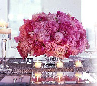 magnificent peony arrangement.