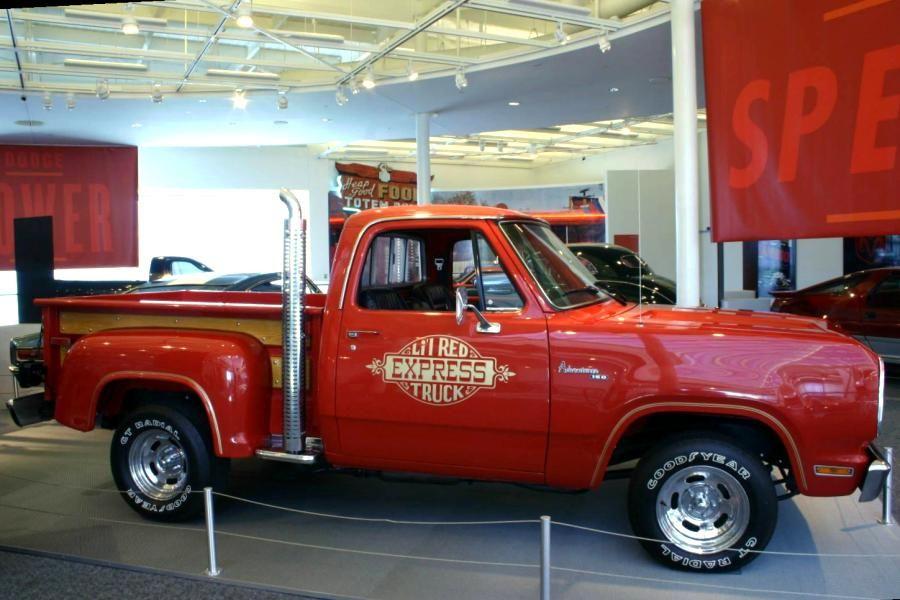 1978 Dodge Li L Red Express Trucks Dodge Trucks Dodge