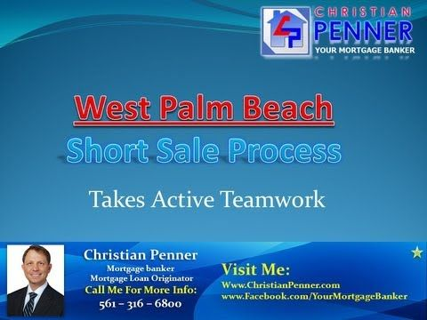 A West Palm Beach short sale is the option usually preferred by anyone who faces foreclosure. It's the path that, with the approval of the mortgage lender, promises to ultimately minimize damage to the homeowner's credit score.Check this out: http://www.christianpenner.com/west-palm-beach-short-sale-process-takes-active-teamwork/