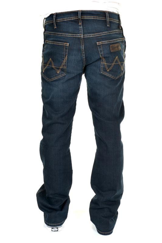 addbf0f58b92 Wrangler Roxboro Bootcut Mens Jeans - Deep Dark