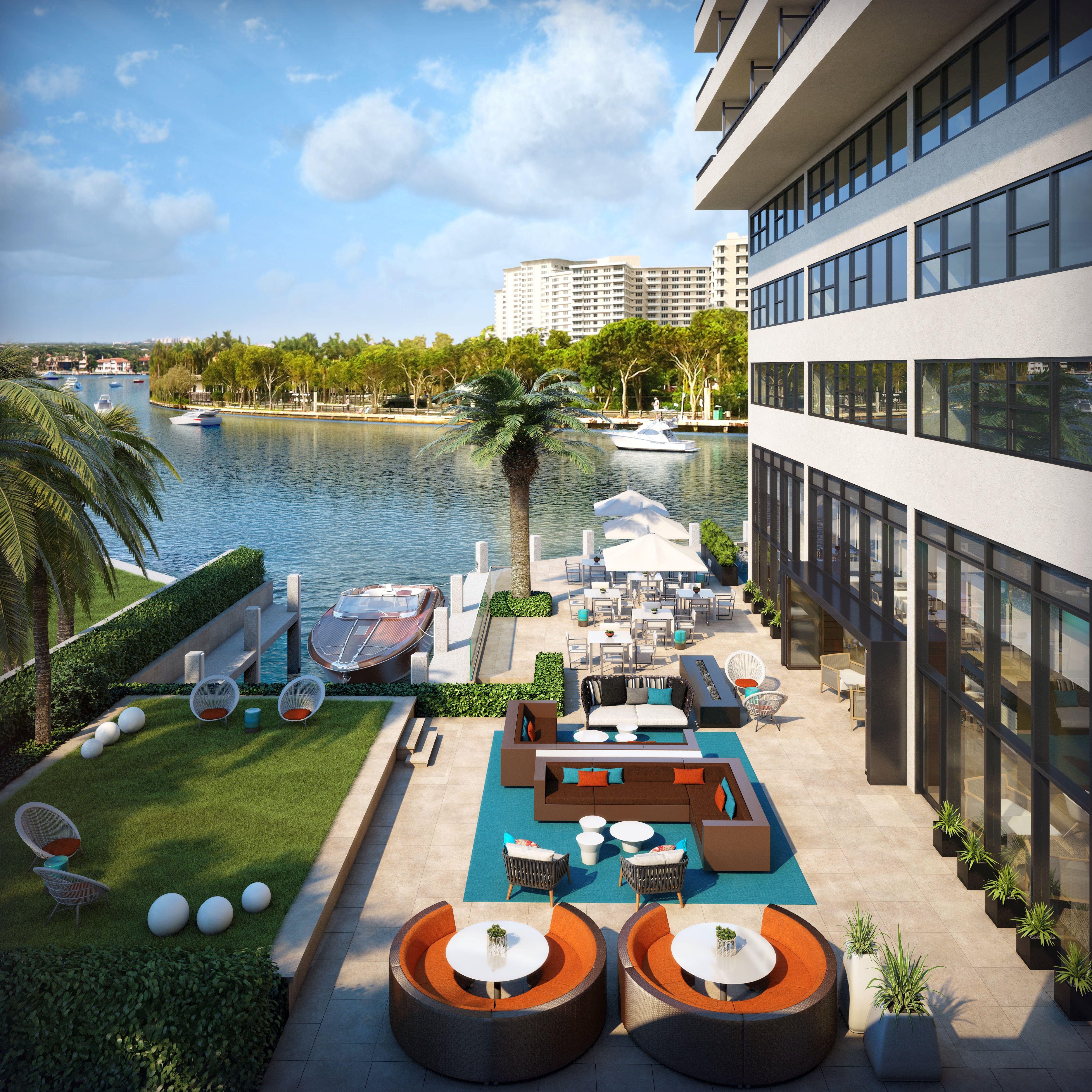 The Promenade Lawn At Waterstone Resort & Marina