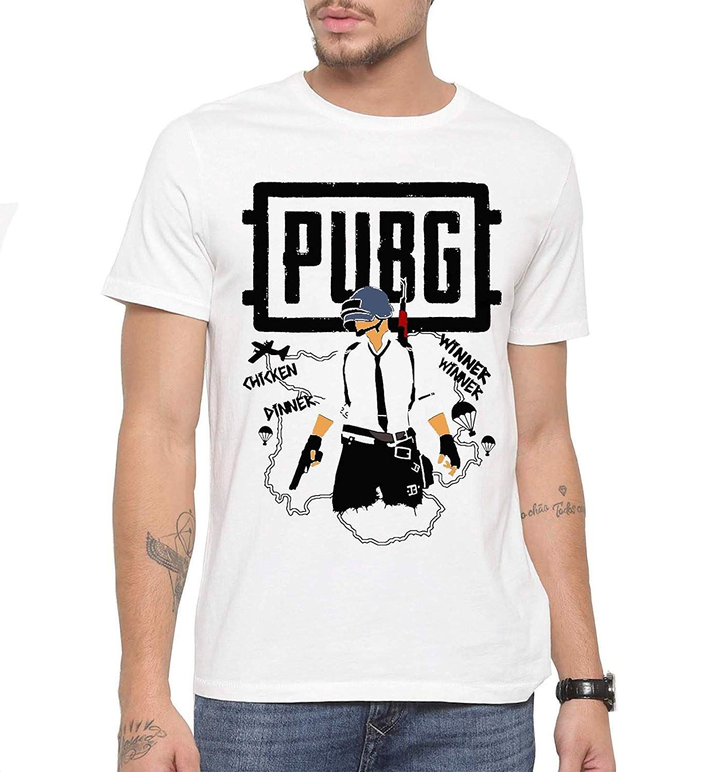 02cef90ee Canis PUBG Winner Winner Chicken Dinner    Printed