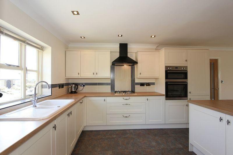 Howdens Rigid Built Kitchens 10 Units Oven Hood Hob Worktops Sink