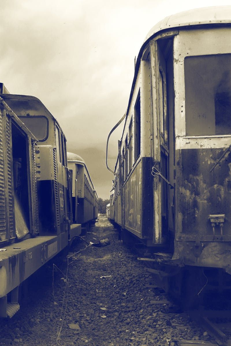 Free stock photo of train, vintage, trains, past