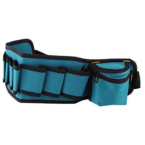 abb7e073d4c7 Akozon Professional Electricians Tool Storage Holder Waist Bag ...