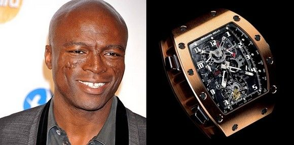 Image result for Seal's Richard Mille