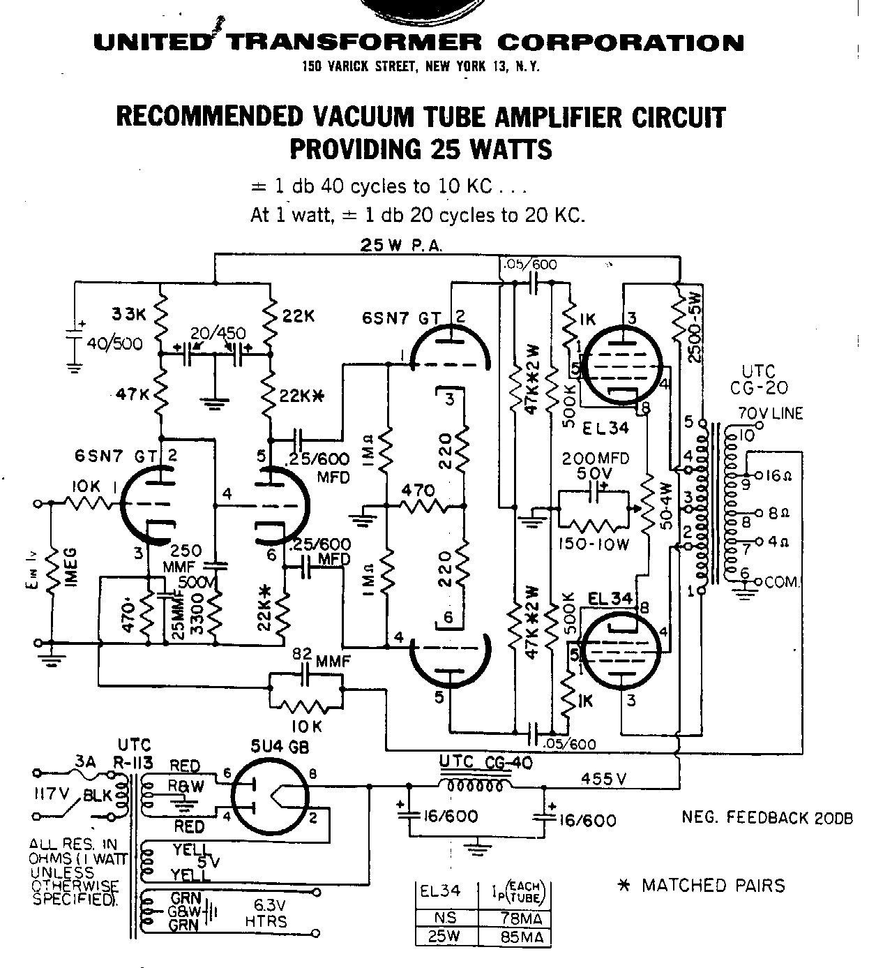 Valve Amplifier Image By Michael Middleton On Tubes