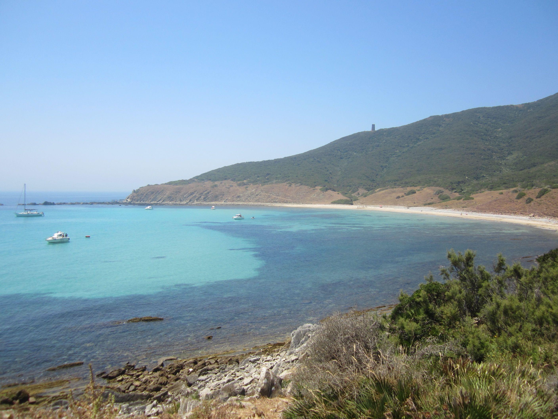 Maravillosa Cala Arenas en Algeciras, enclave de #nudismo