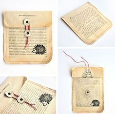 #12giftswithlove - Altes Buch – miss red fox -  miss red fox – 12giftswithlove 01 Old book – DIY Upcycling – Gift Wrapping Envelope – Baker - #12giftswithlove #Altes #Buch #Fox #giftcarddiy #giftcardgiveaway #giftcardplaystore #giftcardvoucher #itunesgiftcard #makeuptutorialforbeginners #makeuptutorialvideo #Red