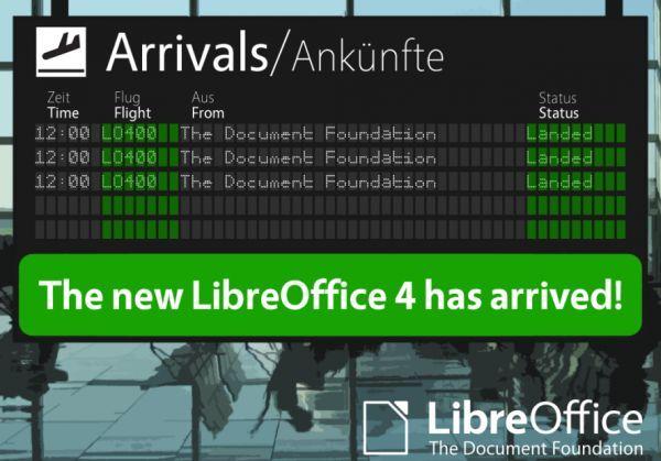 Llega LibreOffice 4.0 con importantes mejoras y novedades para competir con el nuevo Office de Microsoft
