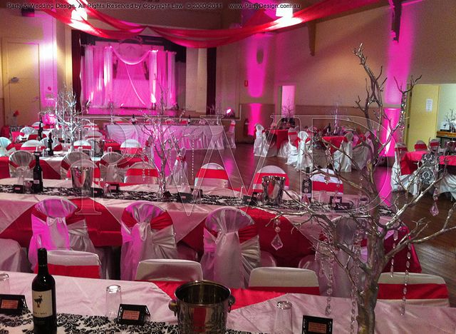 Fuschiapinksilverwedding Hot Pink Wedding Theme Bestie