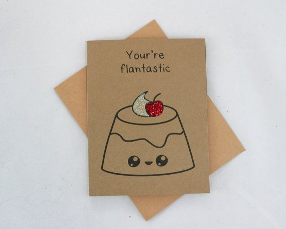 Punny Card Watermelon Funny Card Foodie Card Food Pun Card One in a Melon Cute Card Love Card Cute Stationery Anniversary Card