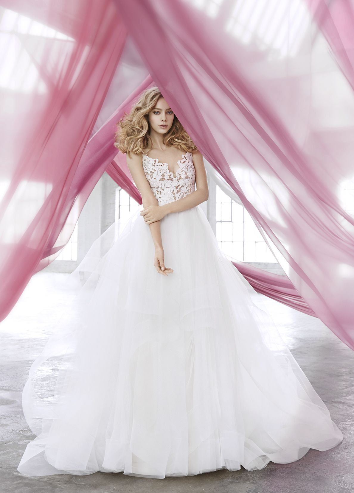 Halo-1600 Blush by Hayley Paige | The Gown | Pinterest | Hayley ...