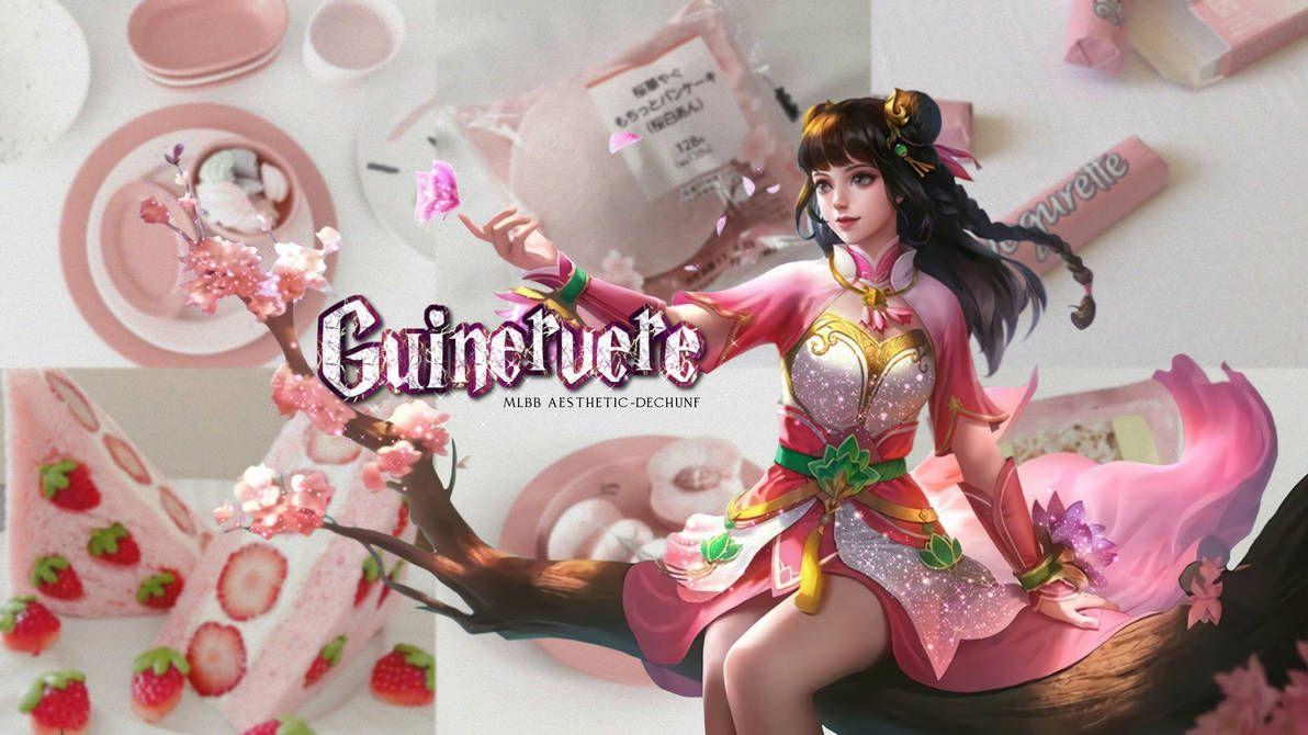Wallpaper Guinevere Mlbb Aesthetic By Dechunf On Deviantart In 2021 Mobile Legend Wallpaper Wallpaper Guinevere