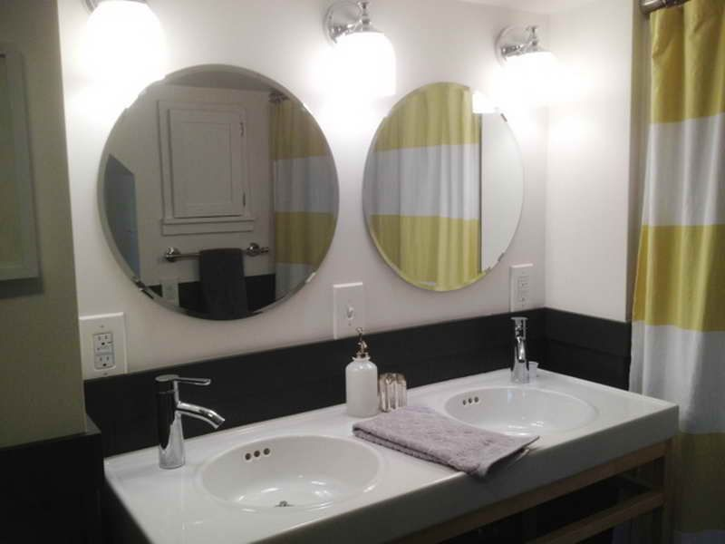 Bathroom mirrors ikea with double sink http lanewstalk for Bathroom ideas amazon