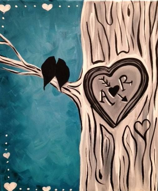 Pin By Marvin Todd On Paint Night Canvas Painting Diy Love Canvas Painting Painting Canvases