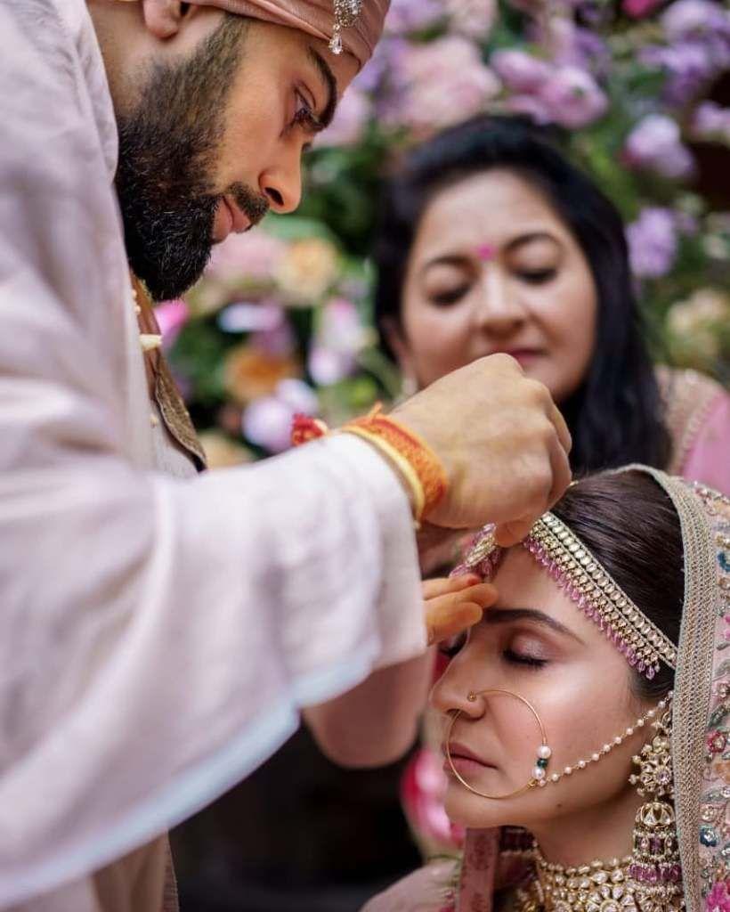 e2cd7c2d4cc virat kohli biography in hindi. Love Anushka Sharma s wedding jewellery by  Sabyasachi.  Frugal2Fab