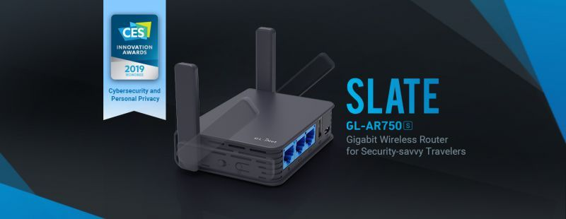 GL iNet GL-AR750S-EXT (Slate) and using a WISP repeater
