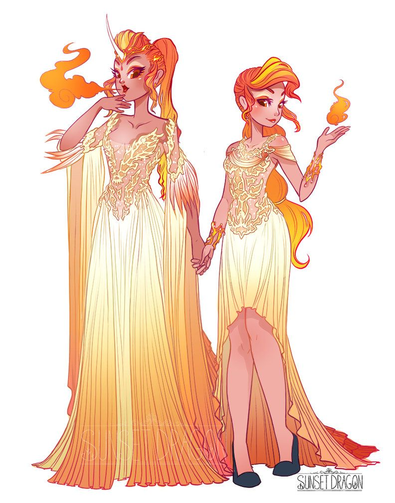 rapidash and ponyta gijinka by flying fox on deviantart convention