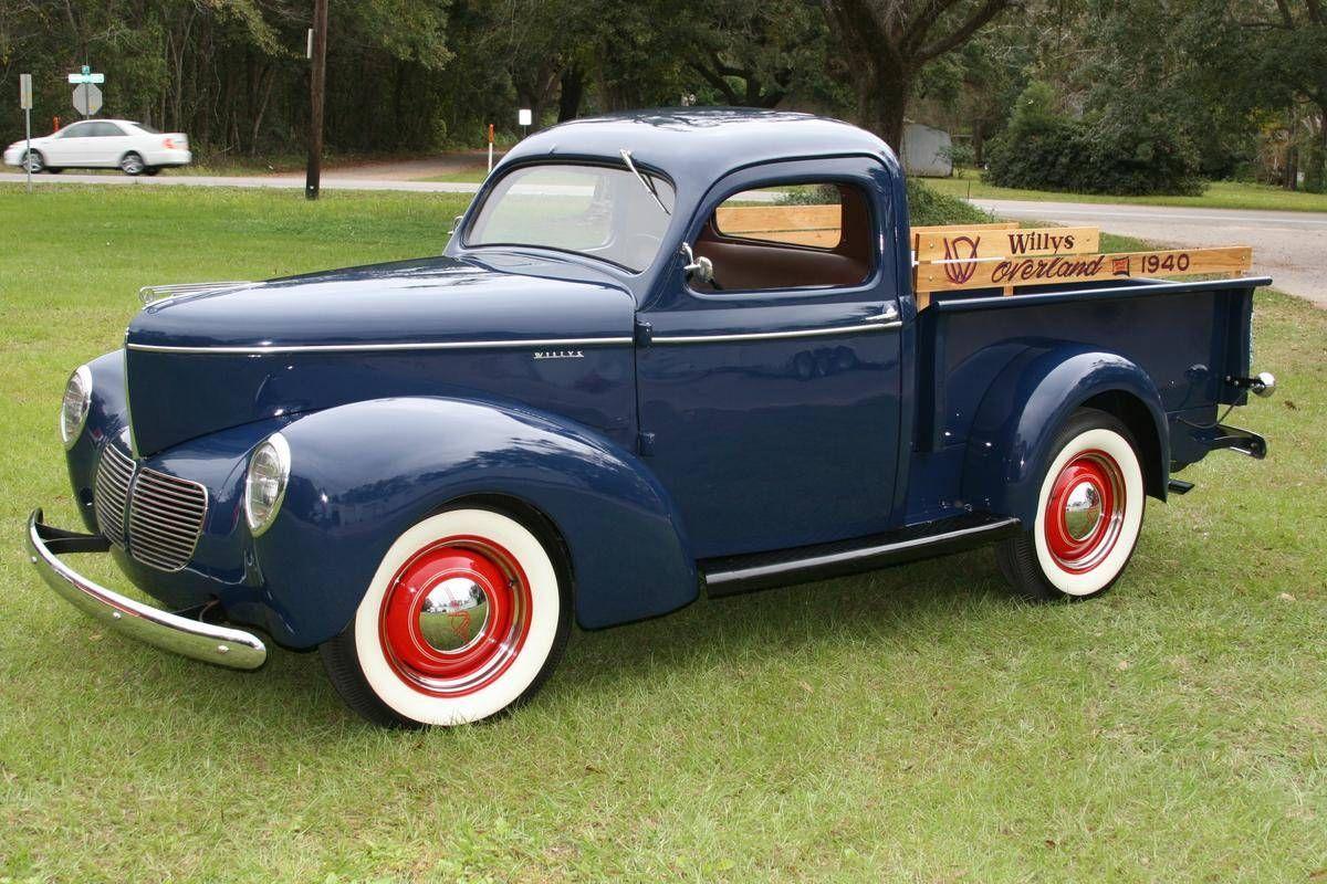 1940 Willys Overland Pickup Maintenance/restoration of old/vintage ...